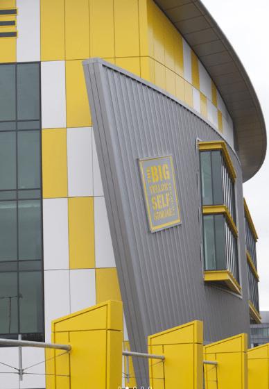 Big Yellow Storage, Chiswick, UK
